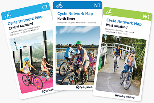 Cycle & walking maps on