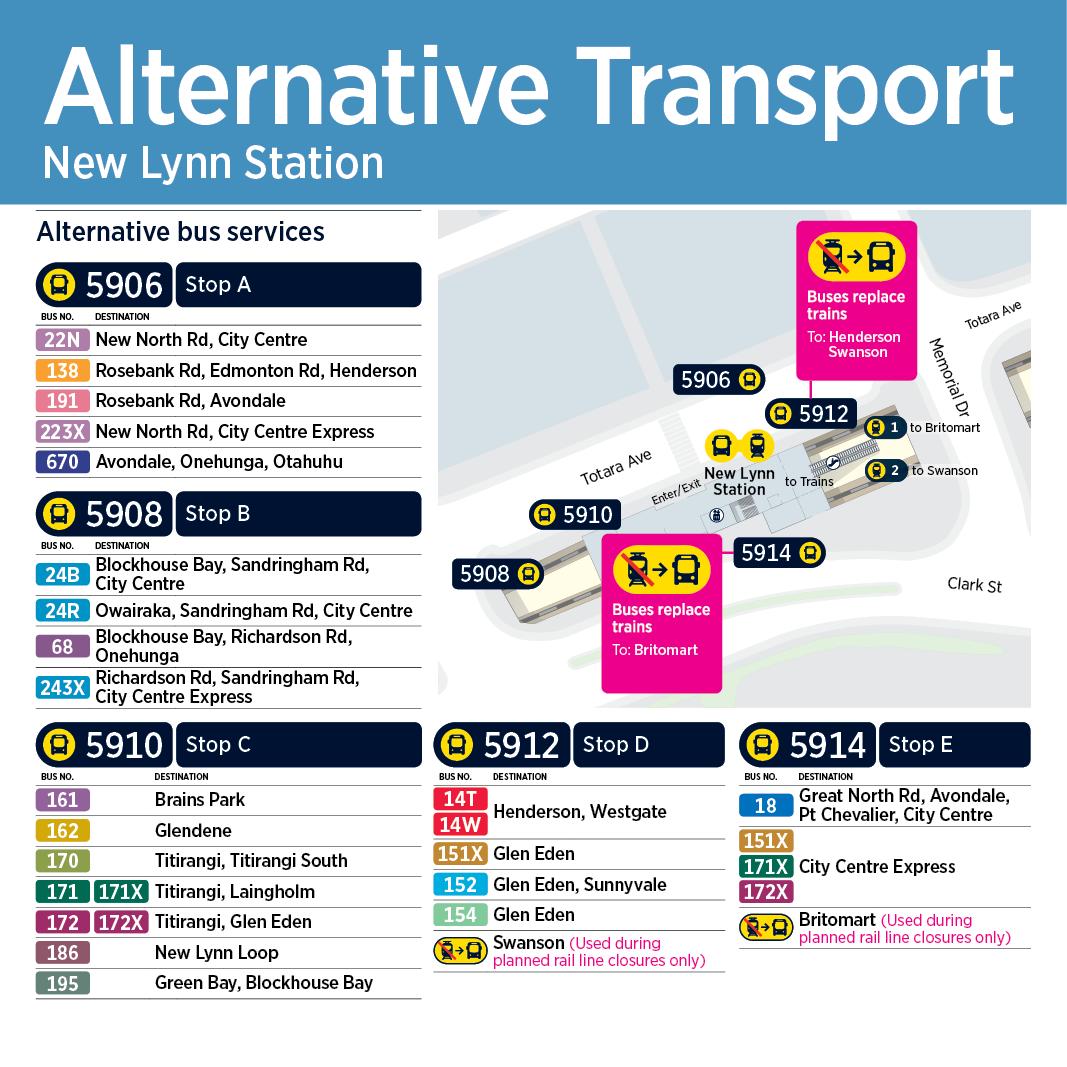 Train station maps